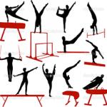 Муниципальный этап соревнований по спортивной гимнастике.
